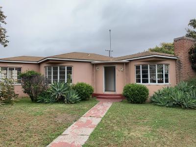 Camarillo Single Family Home For Sale: 2768 Acacia Street