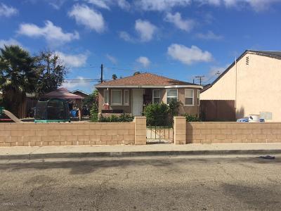 Oxnard Single Family Home For Sale: 429 Garfield Avenue