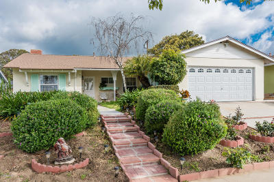 Ventura Single Family Home For Sale: 5235 Harvard Street