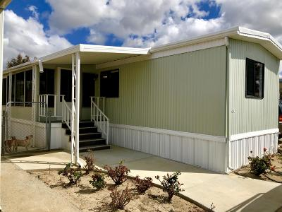 Ventura County Mobile Home For Sale: 60 Via Sintra #60