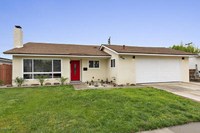 Ventura Single Family Home Active Under Contract: 8144 Shaver Street