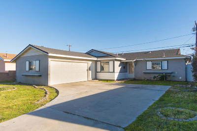 Port Hueneme Single Family Home For Sale: 856 Polaris Way