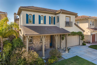 Oxnard Single Family Home For Sale: 1453 Twin Tides Place