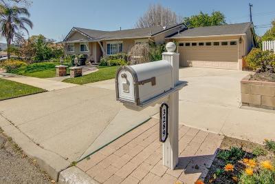 Simi Valley Single Family Home For Sale: 3289 Amarillo Avenue
