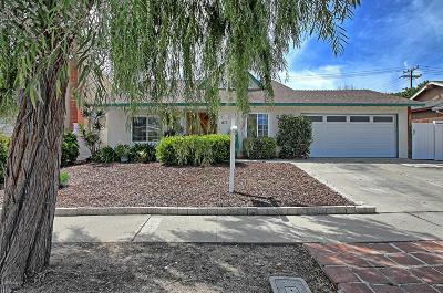 Ventura Single Family Home For Sale: 1813 Pelican Avenue