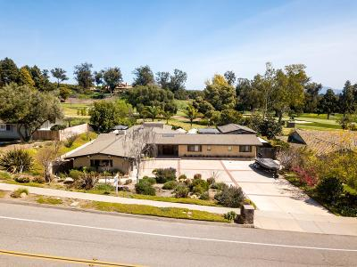 Somis Single Family Home For Sale: 4316 Clubhouse Drive
