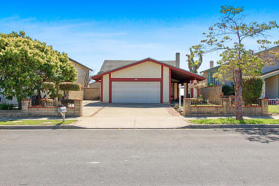 Oxnard Single Family Home For Sale: 1230 Kipling Place