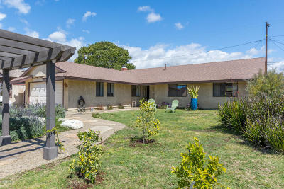 Santa Paula Single Family Home Active Under Contract: 165 Walden Street