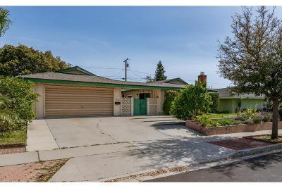 Ventura Single Family Home For Sale: 4858 Aurora Drive