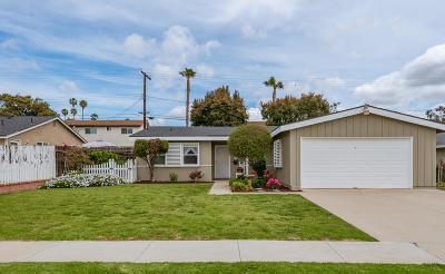 Ventura Single Family Home For Sale: 126 S Ashwood Avenue