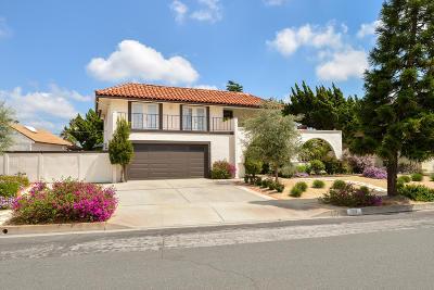 Camarillo Single Family Home Active Under Contract: 1516 Shepherd Drive