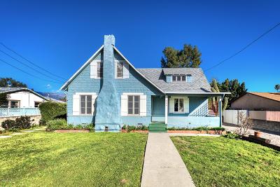 Ojai Single Family Home For Sale: 330 S Padre Juan Avenue
