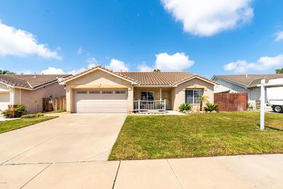 Ventura Single Family Home For Sale: 8007 Costa Mesa Street