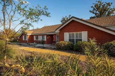 Ojai Single Family Home For Sale: 870 Oakwood Street