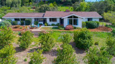Ojai Single Family Home Active Under Contract: 475 Montana Circle
