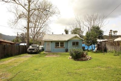 Ventura Single Family Home Active Under Contract: 8935 Nye Road