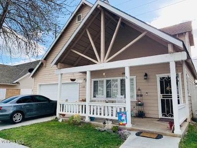 Fillmore Single Family Home For Sale: 1133 Shady Lane