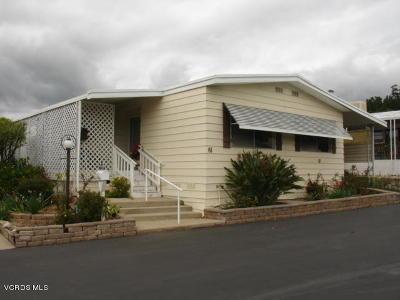 Ojai Mobile Home For Sale: 1202 Loma Drive #61