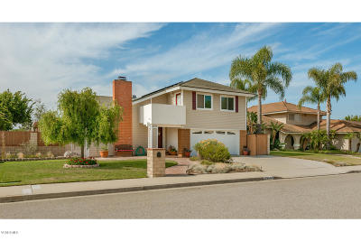 Camarillo Single Family Home For Sale: 2750 Via Corza