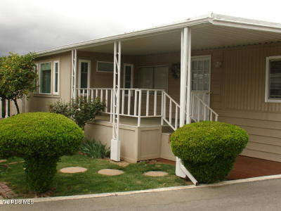 Ventura County Mobile Home For Sale: 1075 Loma Drive #48