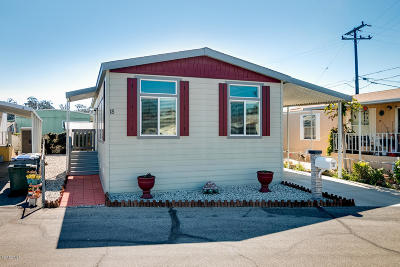 Oxnard Mobile Home For Sale: 3700 Olds Road #18