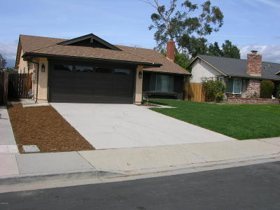 Camarillo Single Family Home For Sale: 5491 Holly Ridge Drive