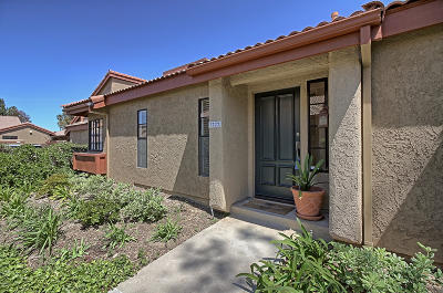 Ventura County Condo/Townhouse Active Under Contract: 3722 Via Pacifica Walk