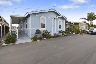Oxnard Mobile Home Active Under Contract: 1300 E Pleasant Valley Road E #52