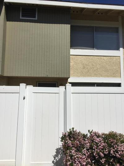 Santa Paula Condo/Townhouse For Sale: 14 Bahia Circle