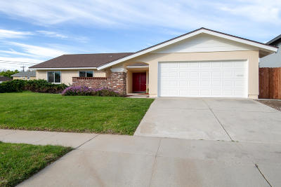 Camarillo Single Family Home Active Under Contract: 1505 Shepherd Drive