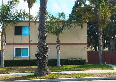 Oxnard Multi Family Home For Sale: 531 W Channel Islands Boulevard
