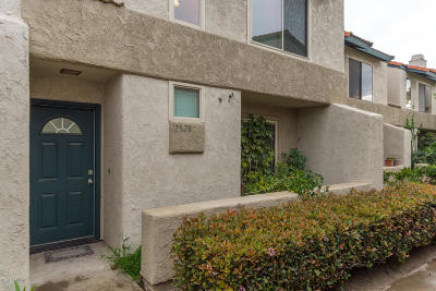 Oxnard Condo/Townhouse Active Under Contract: 2528 Manzanita Drive