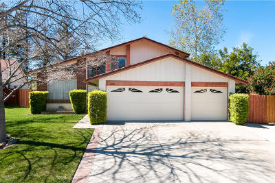 Thousand Oaks Single Family Home Active Under Contract: 2895 Columbine Court