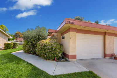Camarillo Single Family Home Active Under Contract: 23116 Village 23