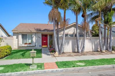 Oxnard Single Family Home For Sale: 3331 W Hemlock Street