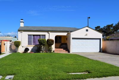 Port Hueneme Single Family Home Active Under Contract: 329 E Scott Street