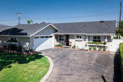 Ventura Single Family Home For Sale: 244 Huntington Ave Avenue