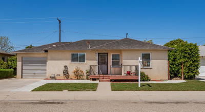 Oxnard Single Family Home For Sale: 435 E Juniper Street