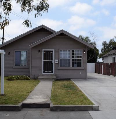 Oxnard Single Family Home Active Under Contract: 306 Wolff Street