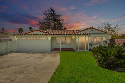 Oxnard Single Family Home Active Under Contract: 420 Wolff Street