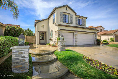Newbury Park Single Family Home Active Under Contract: 4888 Via Bella