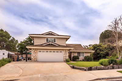 Newbury Park Single Family Home For Sale: 3930 Crownhaven Court