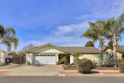 Camarillo Single Family Home Active Under Contract: 3706 Acala Street