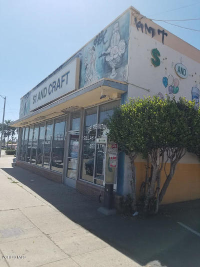 Commercial Active Under Contract: 405 Oxnard Boulevard