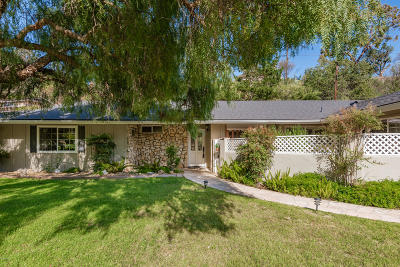Ventura Single Family Home For Sale: 1090 Via Arroyo