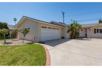 Ventura Single Family Home Active Under Contract: 8469 Neath Street