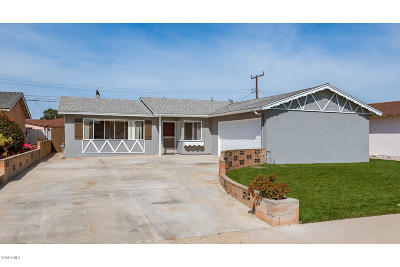 Oxnard Single Family Home For Sale: 3955 S B Street