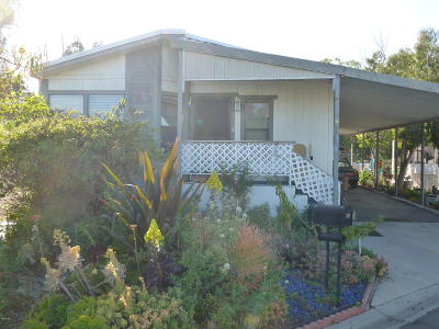 Ventura Mobile Home Active Under Contract: 39 Copland Circle