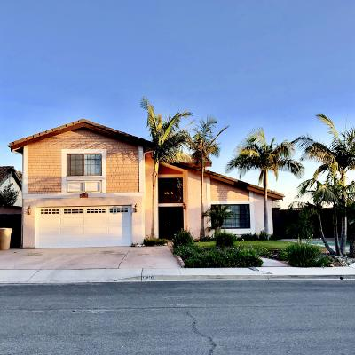Ventura Single Family Home For Sale: 6416 Curlew Place