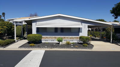 Camarillo Mobile Home Active Under Contract: 222 Calle Fronte #29